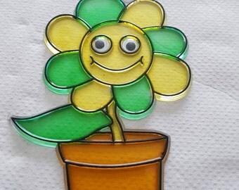 Plant in pot suncatcher