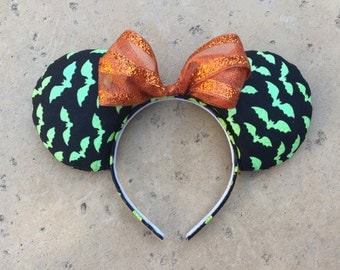 Bat Halloween Ears