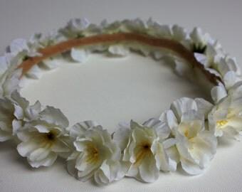 Flower crown, wedding crown, party crown, bridesmaid crown
