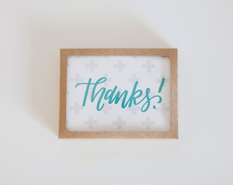 Thanks! Cards - Pack of 5