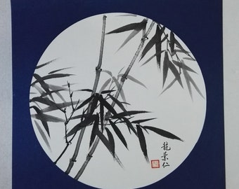 Traditional Chinese Painting, Original Painting, Bamboo , Ink Painting, Study Decoration