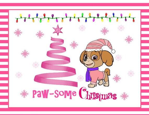 Paw Patrol Paw-some Christmas Wall Art