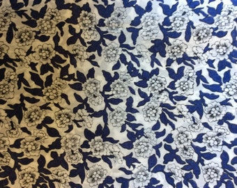 Tana lawn fabric from Liberty of London, Dynasty rare!