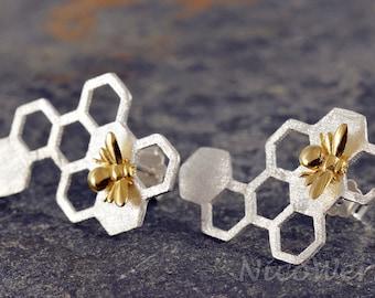 Silver earrings women's earrings jewelry earrings 925 gift SOR119