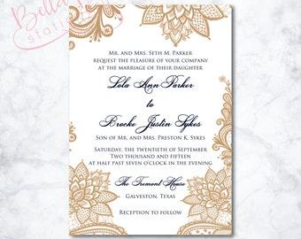 Lolita Wedding Invitation Design