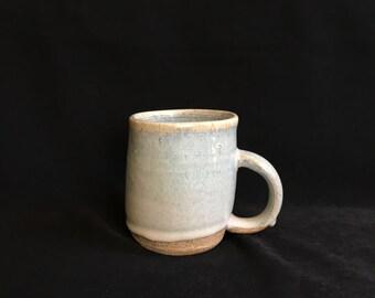 Warped Blue Crystal Mug