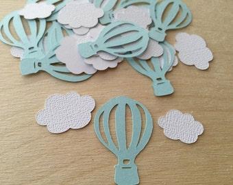 Hot Air Balloon Party Confetti