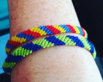 Custom 6-Strand Friendship Bracelet