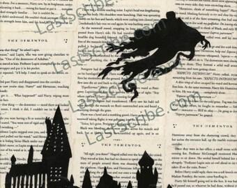 Harry Potter- Dementor Over Hogwarts