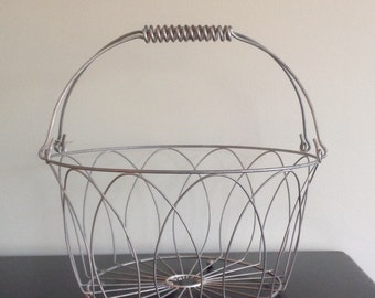 Large Wire Basket with Handles