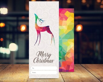 Christmas Gift Tags, 6 pack