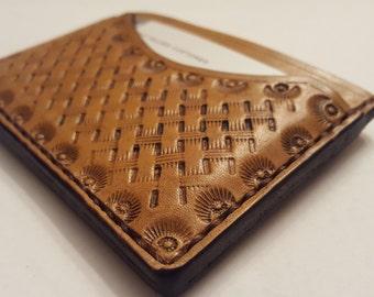 Leather card holder, case, wallet.
