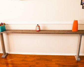Barn Wood Sofa Table