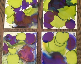 Decorative Abstract Coasters