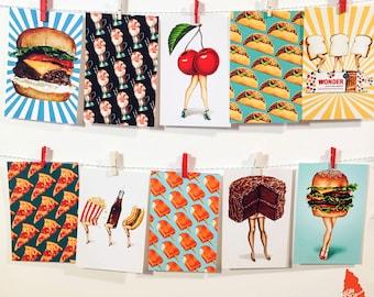 Set of 10 Postcards