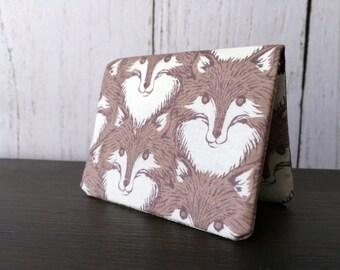 Card Wallet - Fox Portrait