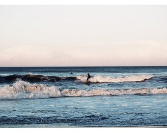 Fine Art Photograph - Beach Photography - Nature Photography - Interaction - Art Print - Landscape - Summer- Fine Art - Oversized - Surf Art