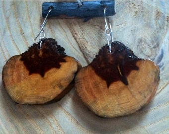 Cottonwood earwires earrings natural Earrings
