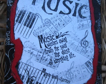 Music washes journal