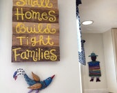 Small homes build tight families