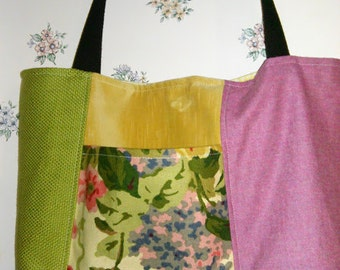 Rosa's Tote-Spring Blooms