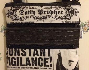 Cross Body Satchel-Daily Prophet-Harry Potter