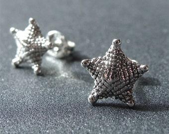 Starfish Studs Starfish Earrings Starfish Studs Sterling Silver Starfish Sea Life Studs Small Beach Studs