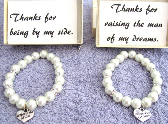 Mother of the Bride Bracelet, Mother of the Groom Bracelet, Mother of Bride  Wedding Gift,Mother's Gift Wedding Bracelet Free Shipping USA