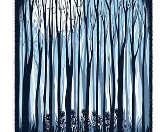 Simon Says - Mini Art Print