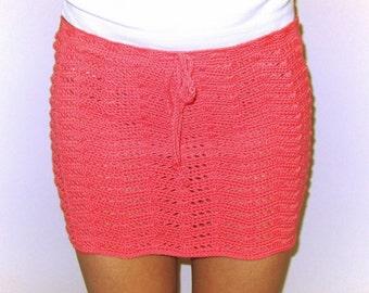 Shell Crochet Mini Skirt Pattern