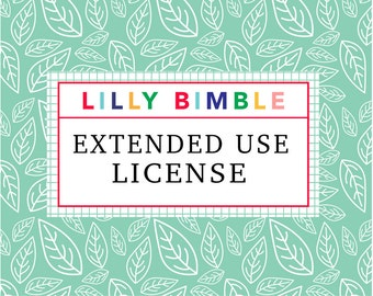 Lilly Bimble Extended Use License