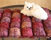 Biscuit Quilt, Cat Bed, Puffy Quilt For Pets, Small Dog Quilt, Biscuit Mat For Pets, Colorado Catnip Mat, Cat Mat, Crate Mat, Luxury Pet Bed