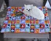 Cat Bed, Cat Mat With Toy, Cat Mat, Cat Accessories, Colorado Catnip Cat Mat, Travel Cat Mat, Cat Blanket, Crate Mat, Luxury Cat Mat, Catnip