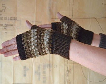 Purlish Mitts Knitting Pattern PDF