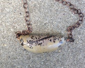 RESERVED for LL, dalmation jasper necklace
