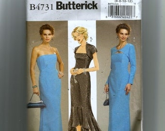 Butterick Misses' Dress  and Shrug Pattern 4731