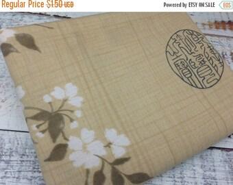35% OFF CRAZY SALE- Reclaimed Bed Linen Fat Quarter -Asian Garden