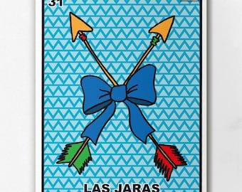 Loteria Las Jaras Print