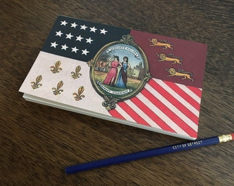 Detroit City Flag Notebook
