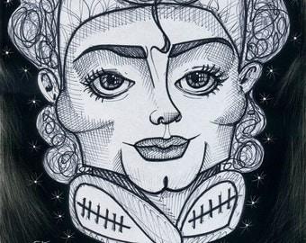 Eye Heart MJ - Caricature