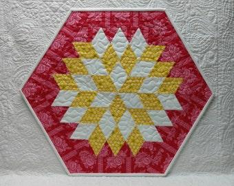 Diamond Hexagon Quilt