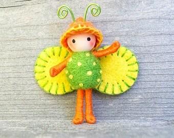 Citrus Bug bendy toy