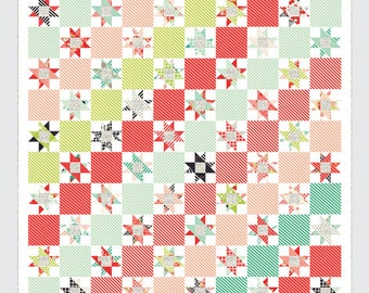 Candy Stripes quilt pattern from Thimble Blossoms - treats or layer cake friendly