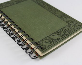 Shakespeare- Recycled Book Journal, Notebook, Sketchbook, made from altered book
