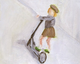 Scooter - Print from Original Oil Painting