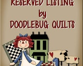 RESERVED FOR marygarner only -- Cocker Spaniel quilts