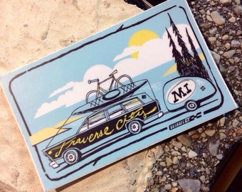 Traverse City sticker