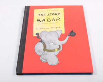The Story of Babar Vintage Picture Book