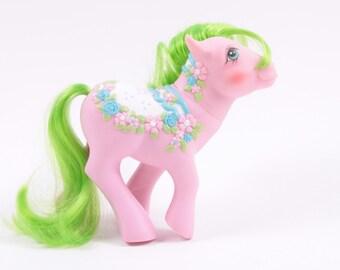 Vintage My Little Pony Carosel Sunnybunch Great Pony! ~