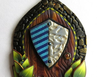 Kings Guard Fairy Door, Pixie Portal, Tooth Fairy Door, Fairy Garden Decor
